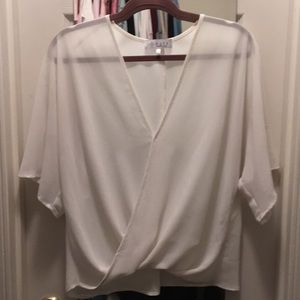 White WAYF top from Nordstrom